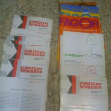 Radios antiguas: FAGOR INFORMACIONES TECNICAS 54 NUMEROS.AÑOS;62/72. Lote 52020530