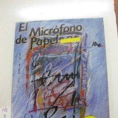 Radios antiguas: EL MICROFONO DE PAPEL Nº 3. EUROPA EN LA RADIO. RADIO NACIONAL DE ESPAÑA. OTOÑO 1985. Lote 52280904