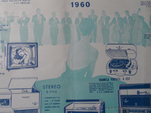 Radios antiguas: FOLLETO CATALOGO RADIO IBERIA RADIO TELEVISOR 1960 - Foto 4 - 52580343