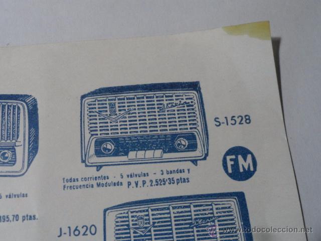 Radios antiguas: FOLLETO CATALOGO RADIO IBERIA RADIO TELEVISOR 1960 - Foto 5 - 52580343