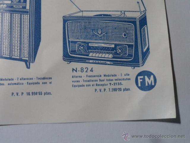 Radios antiguas: FOLLETO CATALOGO RADIO IBERIA RADIO TELEVISOR 1960 - Foto 6 - 52580343