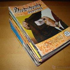 Radios antiguas - Lote de 46 revistas ELECTROTECNIA POPULAR - 52640996