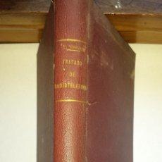 Radios antiguas: TRATADO DE RADIOTELEFONIA 1925. Lote 52768573