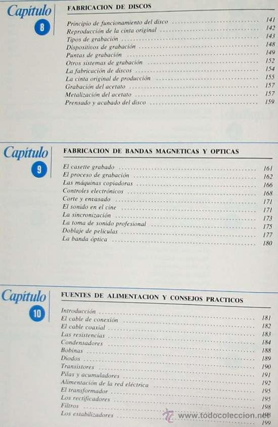 Radios antiguas: ALTA FIDELIDAD - 4 TOMOS COMPLETA - NUEVA LENTE 1980 - VER ÍNDICES - Foto 11 - 182631385