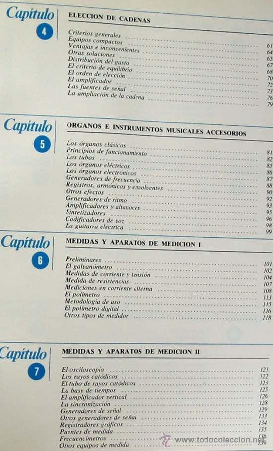 Radios antiguas: ALTA FIDELIDAD - 4 TOMOS COMPLETA - NUEVA LENTE 1980 - VER ÍNDICES - Foto 14 - 182631385