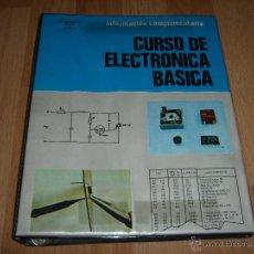 Radios antiguas: CURSO DE ELECTRONICA BASICA. Lote 53288483