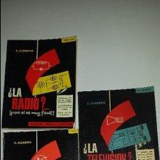 Radios antiguas: MANUALES DE RADIO-TRANSITORES-TV (1979). Lote 53371465