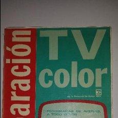 Radios antiguas: REPARACION TV COLOR (1981). Lote 53371523