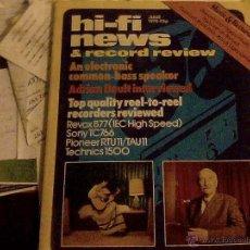 Radios antiguas: HI-FI NEWS JUNE 1978. Lote 53591519