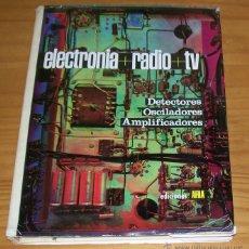 Radios antiguas: ELECTRONIA + RADIO + TV TOMO III AFHA 1965. DETECTORES OSCILADORES AMPLIFICADORES.. Lote 53690779