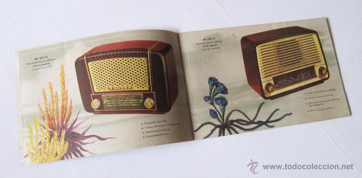 Radios antiguas: CATÁLOGO PHILIPS RADIO 1956 LA ERA NOVOFONIC - EXCELENTE ESTADO - Foto 3 - 54354433