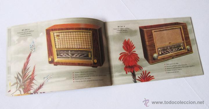 Radios antiguas: CATÁLOGO PHILIPS RADIO 1956 LA ERA NOVOFONIC - EXCELENTE ESTADO - Foto 4 - 54354433