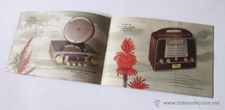 Radios antiguas: CATÁLOGO PHILIPS RADIO 1956 LA ERA NOVOFONIC - EXCELENTE ESTADO - Foto 6 - 54354433