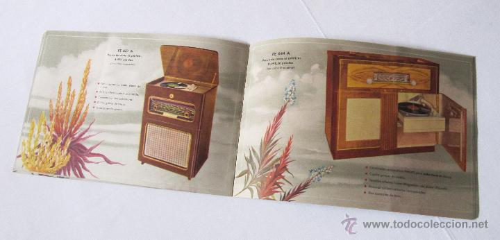 Radios antiguas: CATÁLOGO PHILIPS RADIO 1956 LA ERA NOVOFONIC - EXCELENTE ESTADO - Foto 8 - 54354433