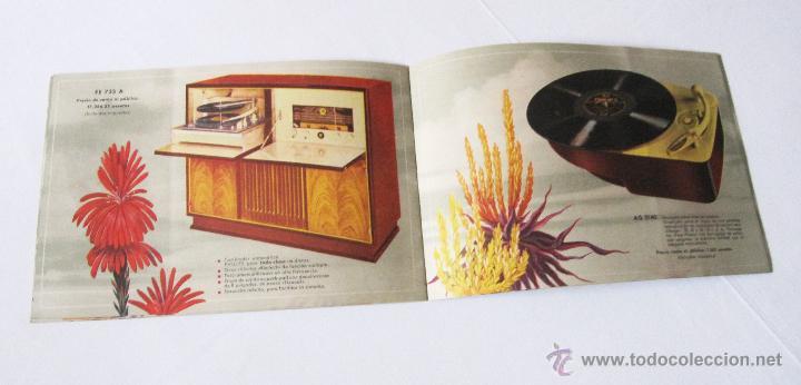 Radios antiguas: CATÁLOGO PHILIPS RADIO 1956 LA ERA NOVOFONIC - EXCELENTE ESTADO - Foto 9 - 54354433