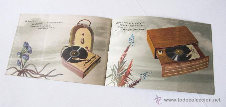 Radios antiguas: CATÁLOGO PHILIPS RADIO 1956 LA ERA NOVOFONIC - EXCELENTE ESTADO - Foto 10 - 54354433
