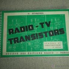 Radios antiguas - Libro de Transistores Frances Radio -TV-Transistor - 54356845