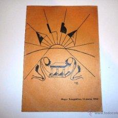 Radios antiguas: ALBA. HOGAR TELEGRÁFICO, 15 MARZO 1933. Nº 2 AÑO I (VER INDICE). Lote 54804333
