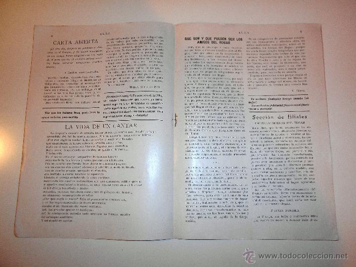 Radios antiguas: ALBA. HOGAR TELEGRÁFICO, 15 MARZO 1933. nº 2 año I (VER INDICE) - Foto 3 - 54804333