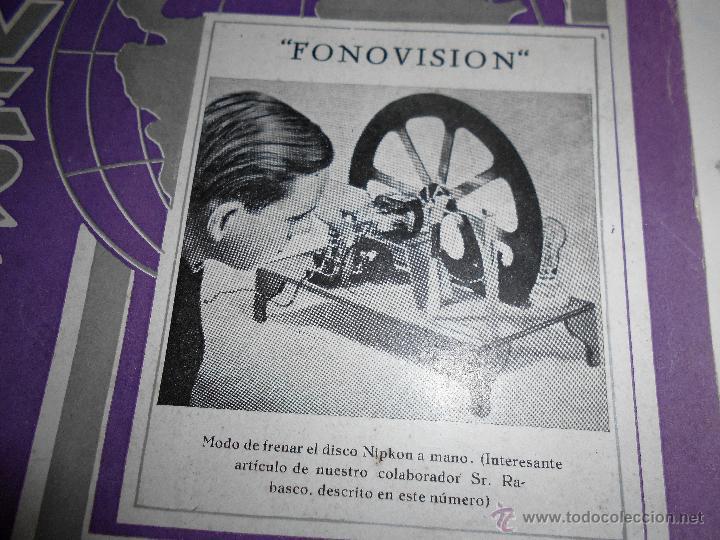Radios antiguas: RADIO UNIVERSAL. AÑO III. OCTUBRE 1935. Nº XXVI - FONOVISIÓN - (VER INDICE) - Foto 6 - 54804404