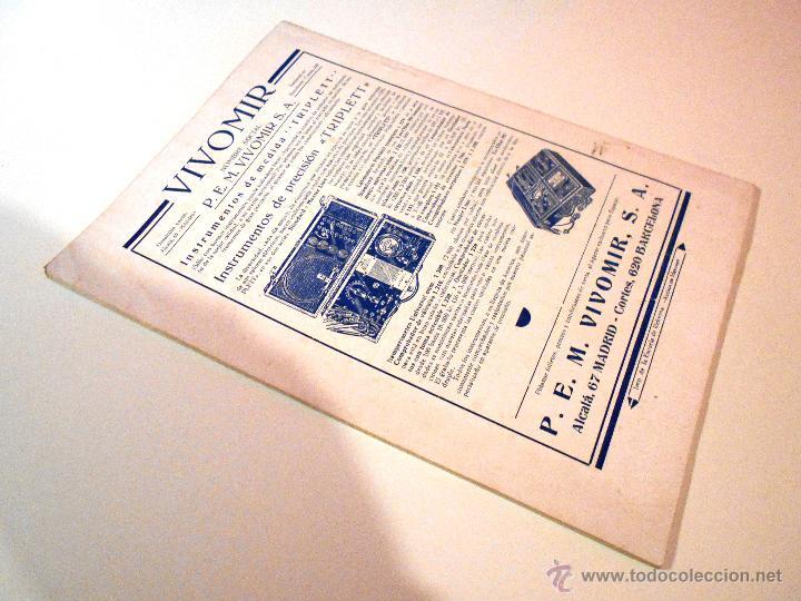 Radios antiguas: RADIO UNIVERSAL. AÑO III. OCTUBRE 1935. Nº XXVI - FONOVISIÓN - (VER INDICE) - Foto 8 - 54804404