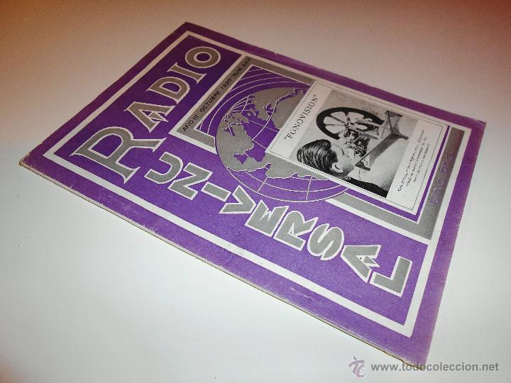 Radios antiguas: RADIO UNIVERSAL. AÑO III. OCTUBRE 1935. Nº XXVI - FONOVISIÓN - (VER INDICE) - Foto 9 - 54804404