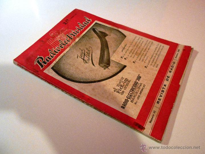 Radios antiguas: RADIOELECTRICIDAD Nº 43 REVISTA DE RADIO. OCTUBRE, 1952 (VER INDICE) - Foto 7 - 54804463