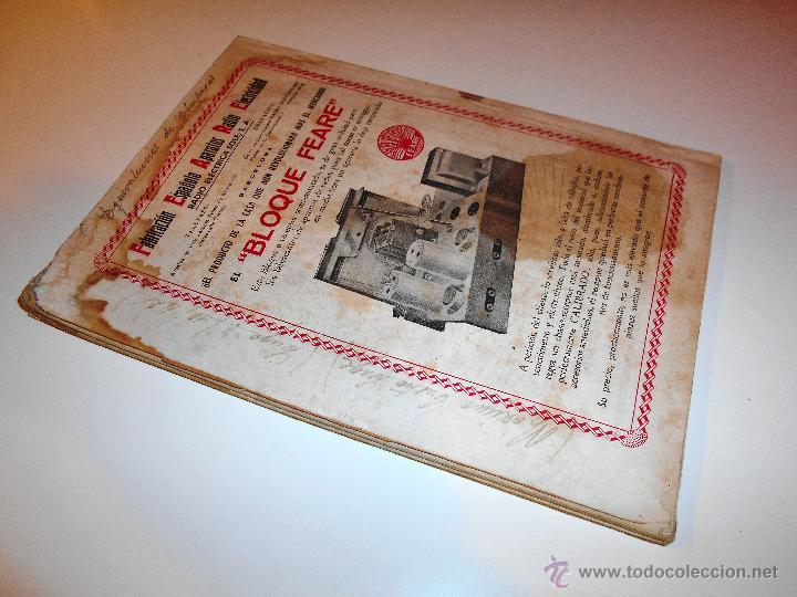Radios antiguas: RADIOELECTRICIDAD Nº 43 REVISTA DE RADIO. OCTUBRE, 1952 (VER INDICE) - Foto 8 - 54804463