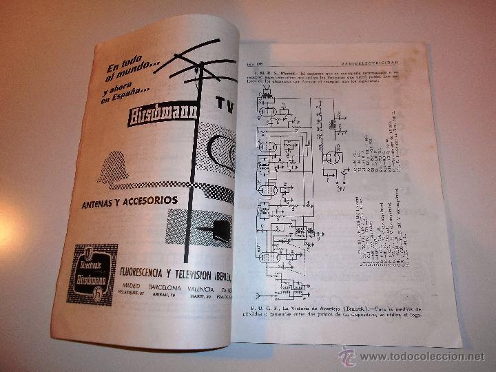 Radios antiguas: RADIOELECTRICIDAD Nº 243 REVISTA DE RADIO. JULIO, 1959 (VER INDICE) - Foto 7 - 54804493