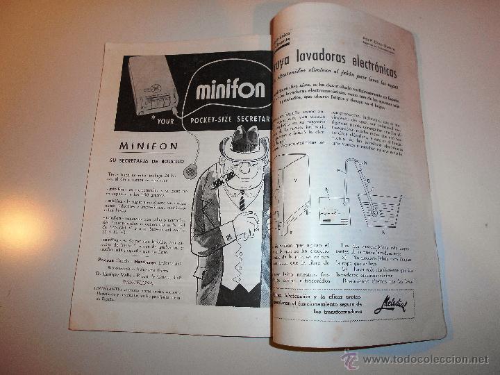 Radios antiguas: RADIOELECTRICIDAD Nº 243 REVISTA DE RADIO. JULIO, 1959 (VER INDICE) - Foto 8 - 54804493
