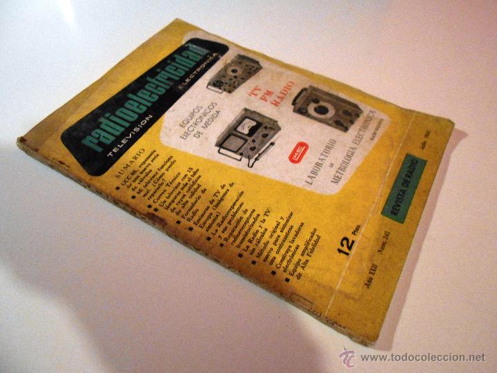 Radios antiguas: RADIOELECTRICIDAD Nº 243 REVISTA DE RADIO. JULIO, 1959 (VER INDICE) - Foto 9 - 54804493