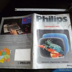 Radios antiguas: ANTIGUO CATALOGO PHILIPS. Lote 56840023
