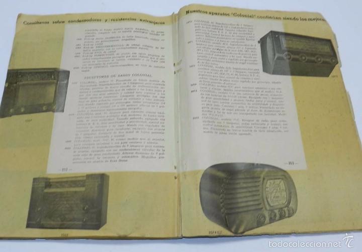 Radios antiguas: Radio Saturno. Catálogo General para 1947. Tiene 103 pag. Mide 25 x 19 cm. Tiene 103 pag. - Foto 2 - 57052895