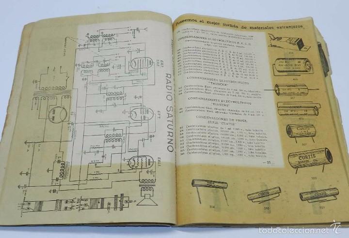 Radios antiguas: Radio Saturno. Catálogo General para 1947. Tiene 103 pag. Mide 25 x 19 cm. Tiene 103 pag. - Foto 3 - 57052895
