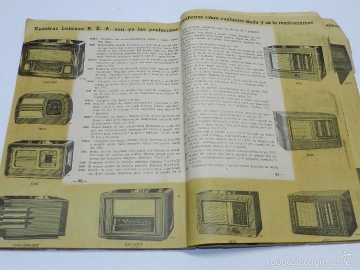 Radios antiguas: Radio Saturno. Catálogo General para 1947. Tiene 103 pag. Mide 25 x 19 cm. Tiene 103 pag. - Foto 4 - 57052895