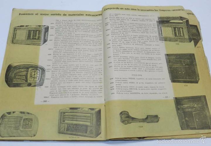 Radios antiguas: Radio Saturno. Catálogo General para 1947. Tiene 103 pag. Mide 25 x 19 cm. Tiene 103 pag. - Foto 5 - 57052895