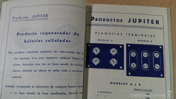 Radios antiguas: CONSTRUCCIONES IBERIA MATERIALES PARA LA RADIO JUPITER CONDENSADORES BARCELONA - Foto 3 - 57162368