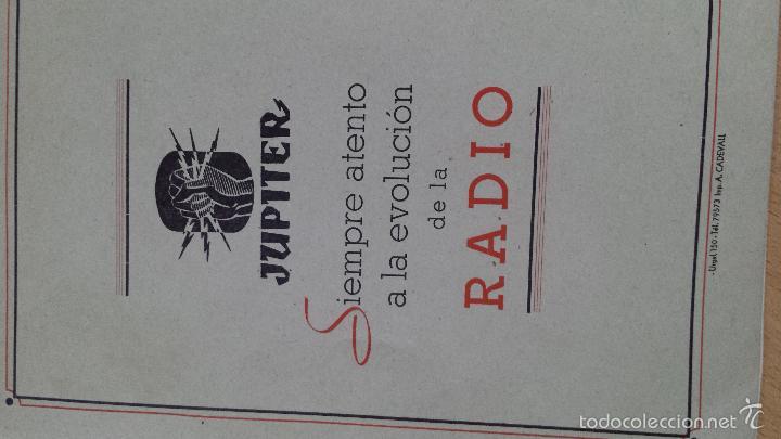 Radios antiguas: CONSTRUCCIONES IBERIA MATERIALES PARA LA RADIO JUPITER CONDENSADORES BARCELONA - Foto 5 - 57162368
