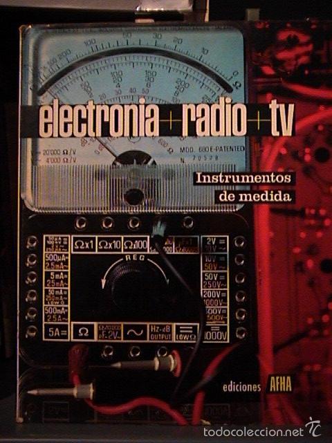 Radios antiguas: curso afha electronia radio tv. Tomos del 1 al 9. - Foto 11 - 57707090