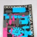 Radios antiguas: DICCIONARIO DE ELECTRONICA - RADIO -TV. AFHA. TDKR19. Lote 57988321