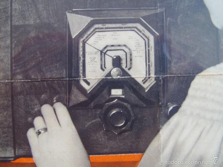 Radios antiguas: Cartel, poster radio Philips años 30 - Foto 3 - 58251473