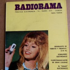 Radios antiguas: ANTIGUA REVISTA RADIORAMA Nº 45 1971 GENERADOR DE VIBRATO-INTERCOMUNICADOR-MEDIDOR DE DISTORSION. Lote 58278591