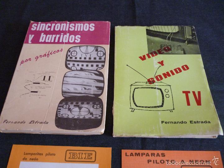 Radios antiguas: Lote libros Fernando estrada de tv y radio +publicidad - Foto 4 - 58580087