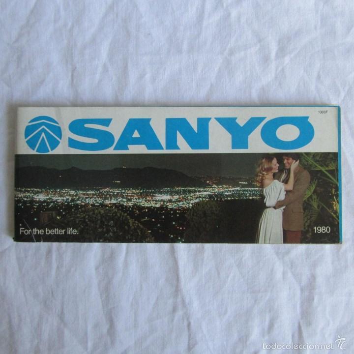 CATÁLOGO GENERAL SANYO 1980 (Radios, Gramófonos, Grabadoras y Otros - Catálogos, Publicidad y Libros de Radio)