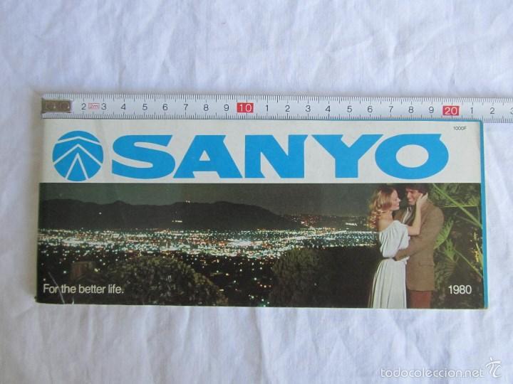 Radios antiguas: Catálogo general Sanyo 1980 - Foto 2 - 58642705