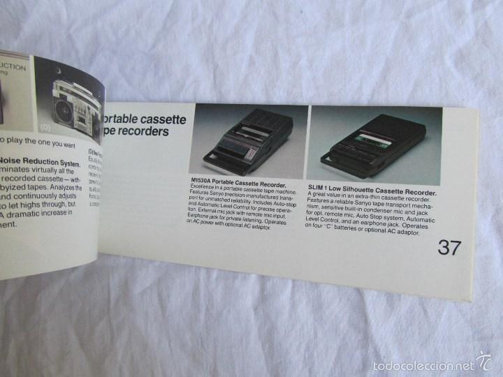 Radios antiguas: Catálogo general Sanyo 1980 - Foto 4 - 58642705