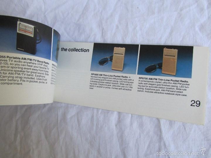 Radios antiguas: Catálogo general Sanyo 1980 - Foto 5 - 58642705