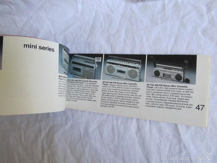 Radios antiguas: Catálogo general Sanyo 1980 - Foto 6 - 58642705