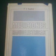 Radios antiguas: MEDICIONES RADIOELECTRICAS. Lote 59762456