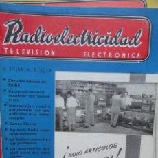 Radios antiguas - REVISTA RADIOELECTRICIDAD TELEVISION ELECTRONICA JULIO 1955 - 60860891